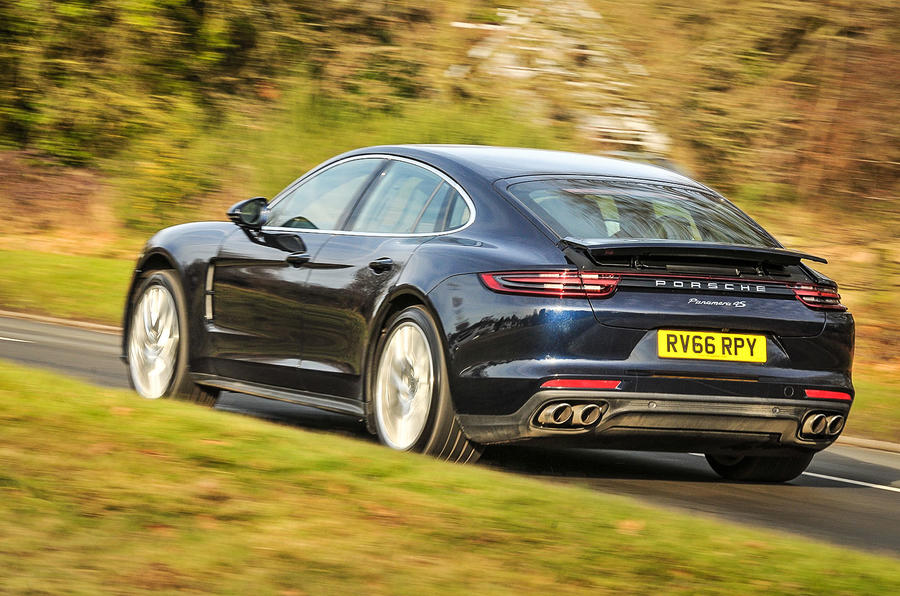 2017 porsche panamera 4s diesel uk drive review autocar. Black Bedroom Furniture Sets. Home Design Ideas