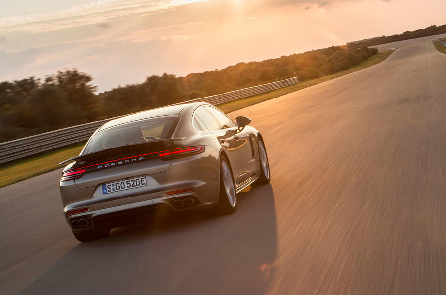 Surprise: Porsche's fastest Panamera is a hybrid