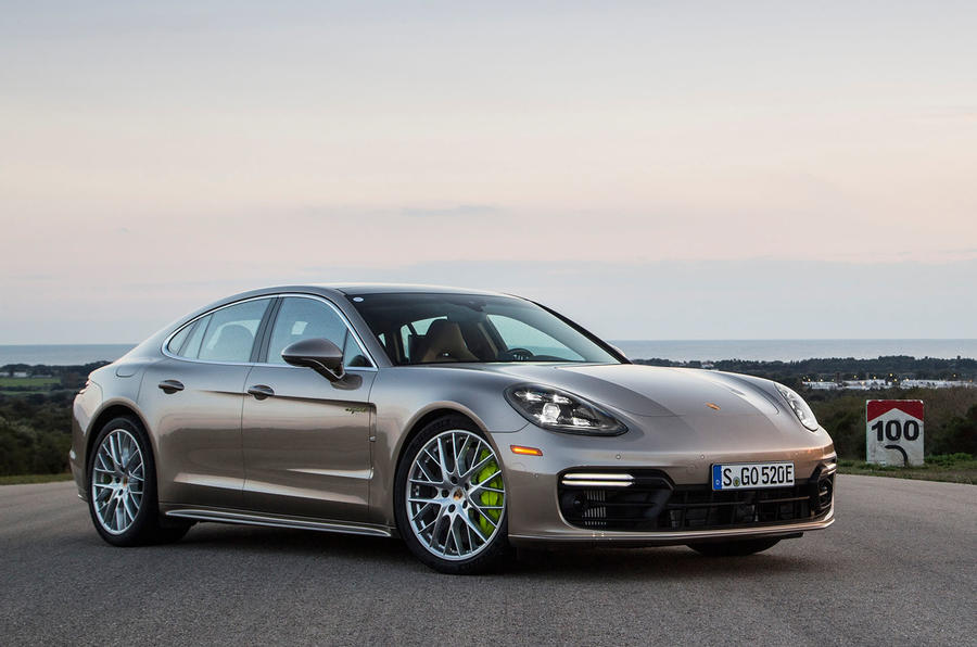 Porsche Panamera Turbo S E-Hybrid Packs 680 Gas-Electric Horsepower
