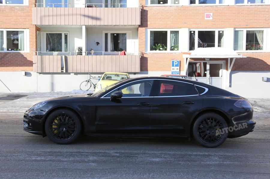 Porsche Panamera spy 2016