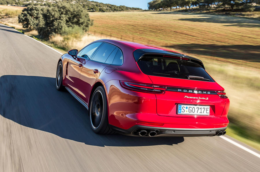 Porsche Panamera Turbo S E-Hybrid Sport Turismo rear