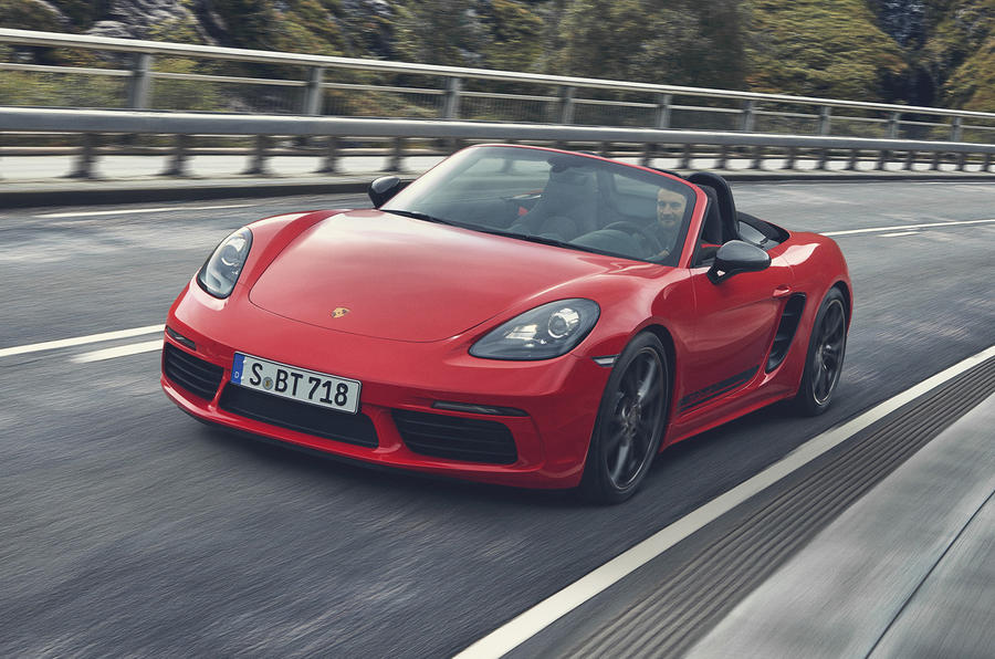 Porsche Launches Dynamic 718 Boxster T And Cayman T