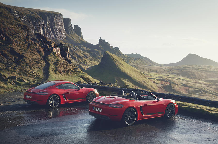 Porsche 718 T Boxster and Cayman