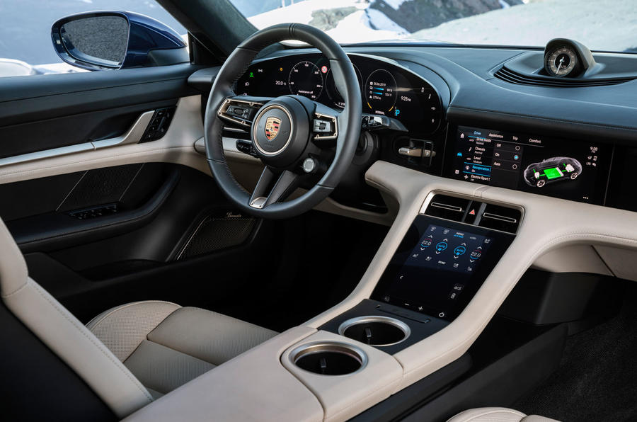 2020 Porsche Taycan reveal images - interior