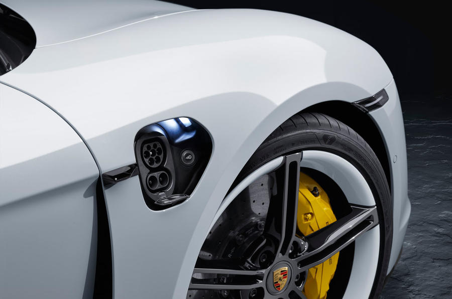 2020 Porsche Taycan reveal images - static wheel