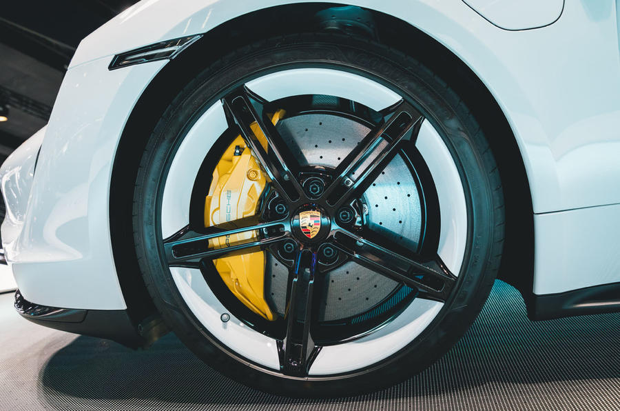 Porsche Taycan 2020 official reveal - wheel