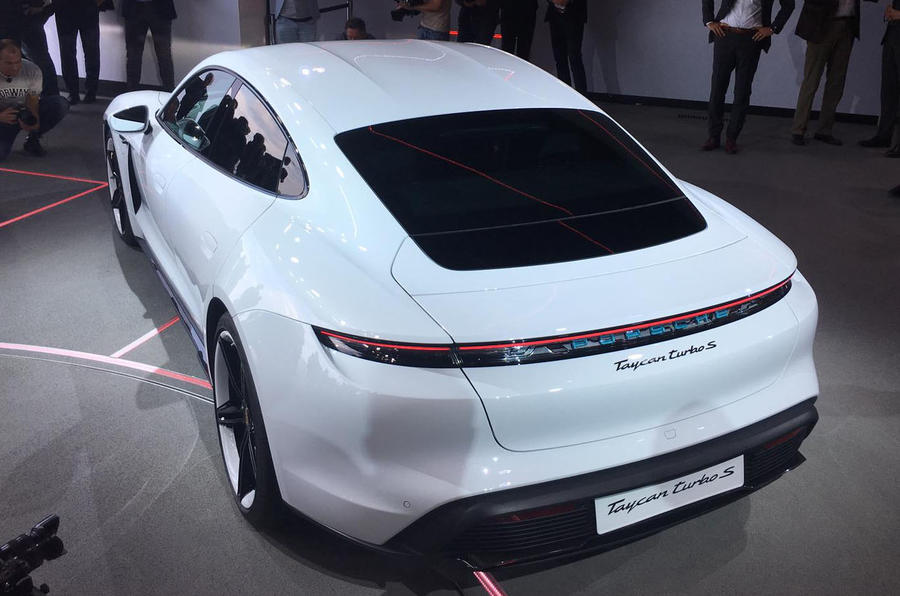 New Porsche Taycan arrives as pivotal electric sports car