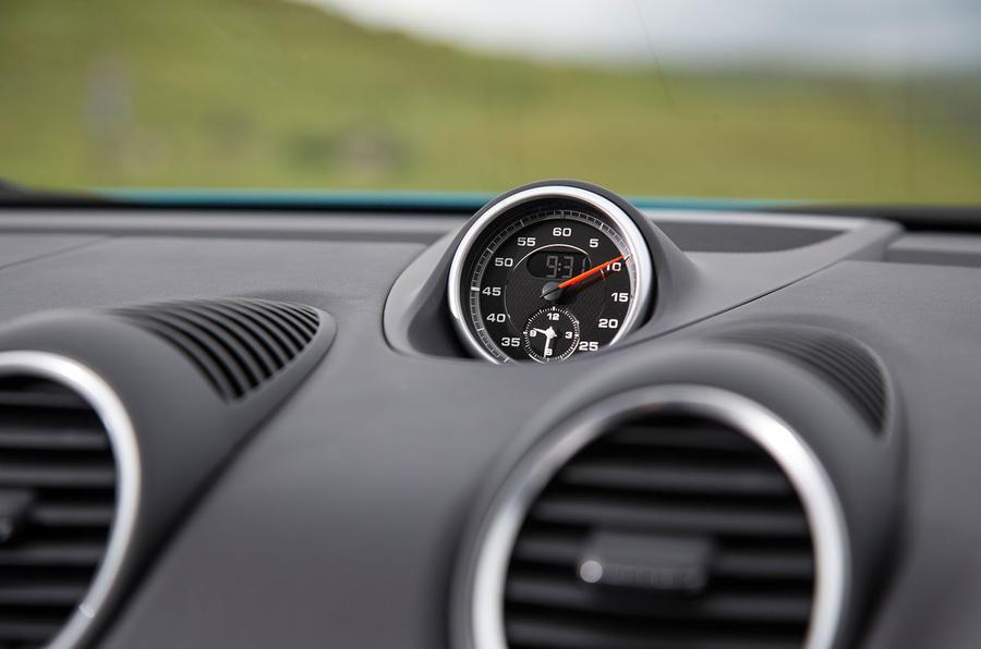 Porsche 718 Cayman S chronography