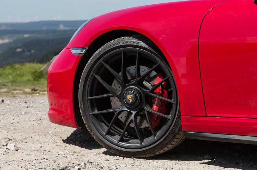 Porsche 911 GTS black alloys