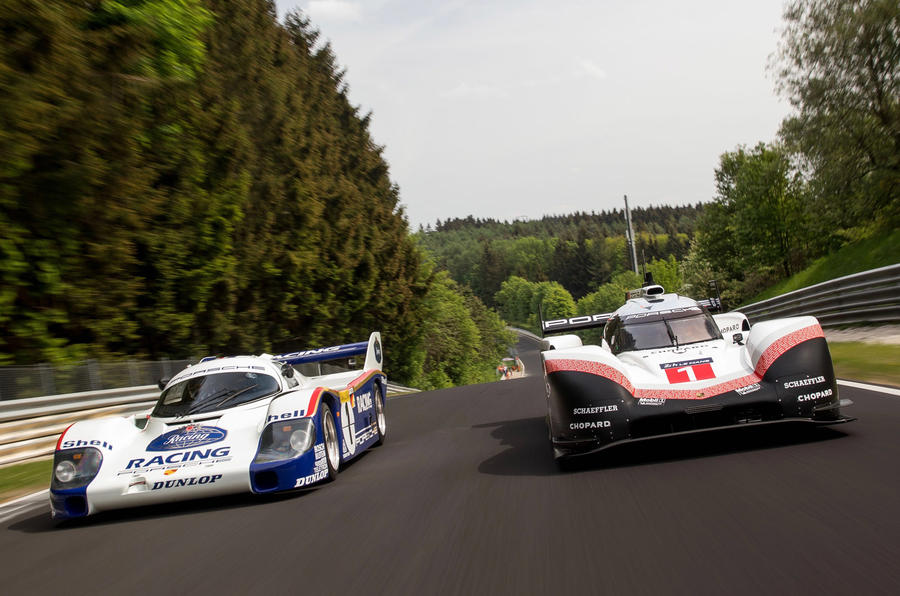 Porsche smashes all,time Nurburgring record , with onboard