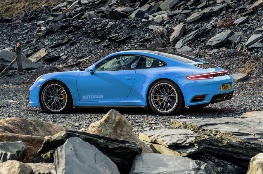 2019 porsche 911 new video shows 992 carrera 4s at the nurburgring rh autocar co uk