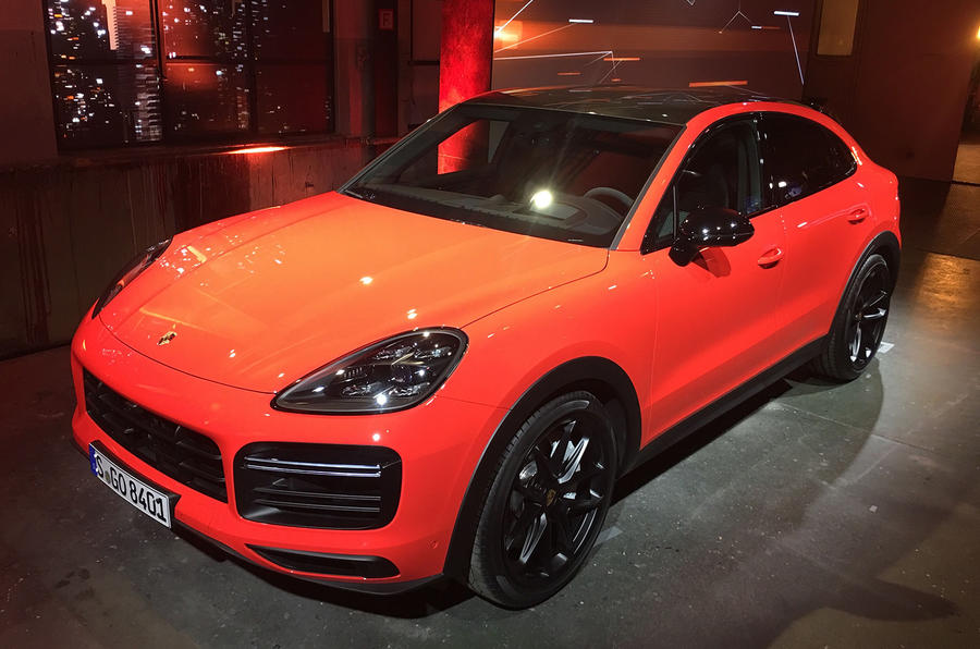 Porsche Cayenne Coupe New Bmw X6 Rival Revealed Autocar