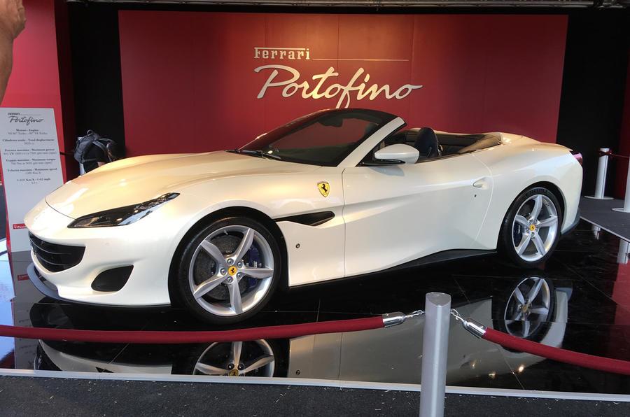 New Ferrari Portofino Shown In Public For First Time Autocar