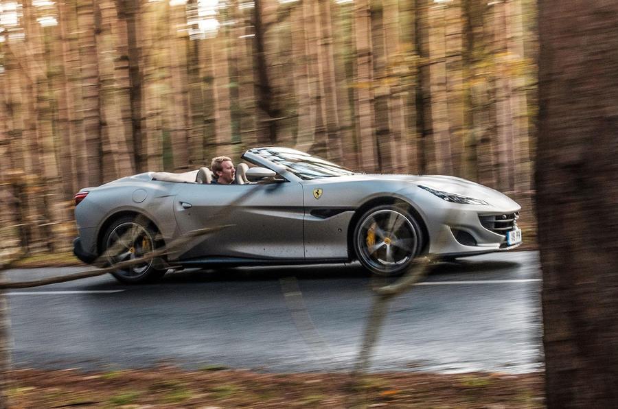 Ferrari Portofino 2018 roof down