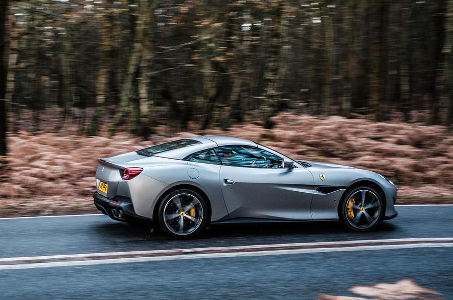 Ferrari Portofino 2018 driving shot
