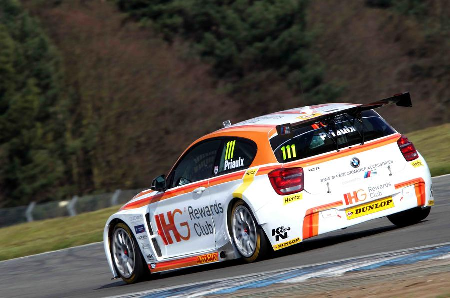Jason plato sets early british touring car championship for Motor club company reviews