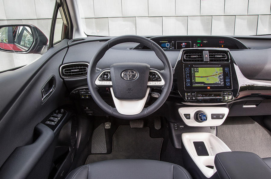 Toyota Prius Excel dashboard