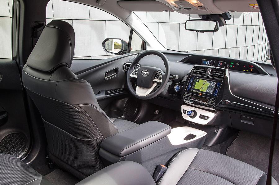 Toyota Prius Excel front seats