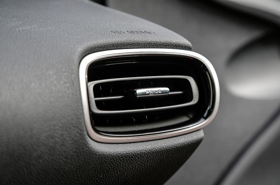 Toyota Prius air vents
