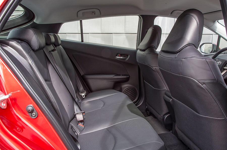 Toyota Prius rear seats
