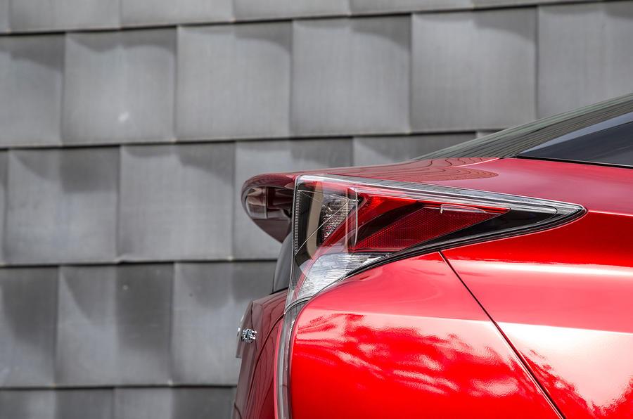 Toyota Prius rear lights