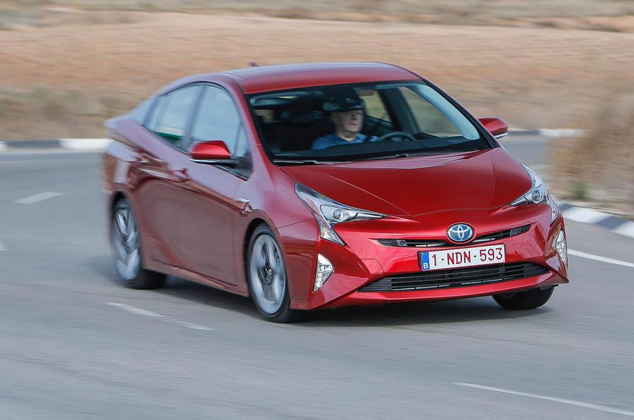 Toyota Prius cornering