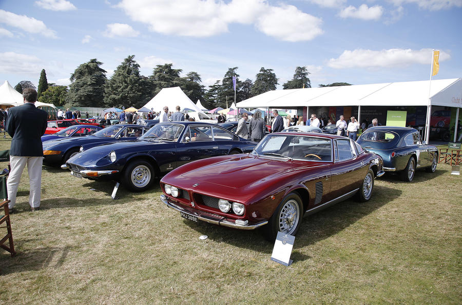 Cars, food and coffee at Blenheim Palace