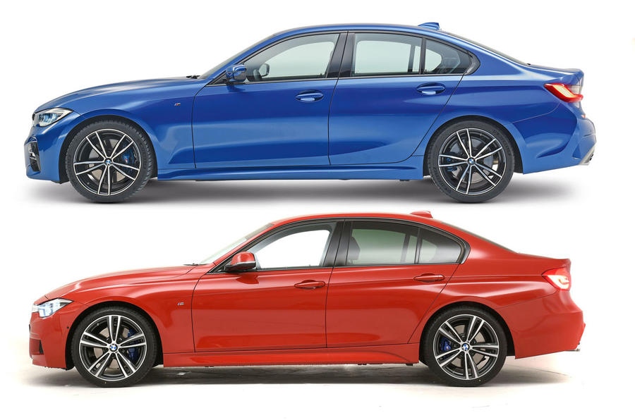 Old vs new BMW 3 series: compare the styling changes