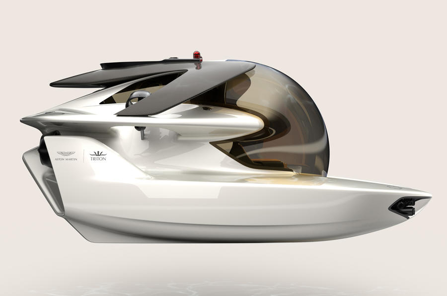 Aston Martin Project Neptune launched as luxury submersible vehicle
