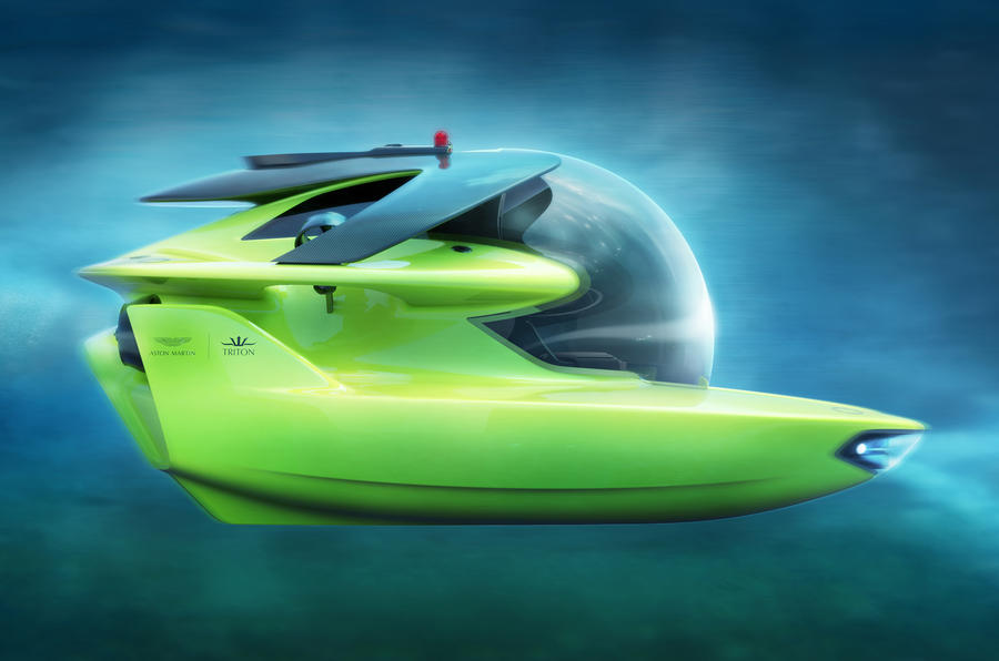 Project Neptune: Aston Martin unveils luxury submarine