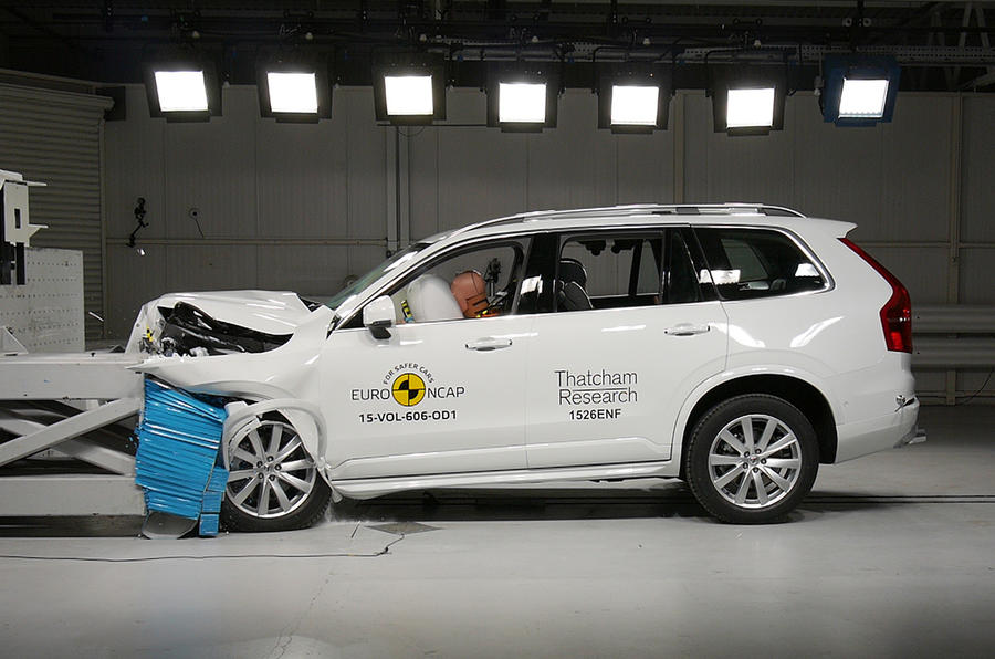 The Volvo XC90 won the 2016 What Car? Safety Award sponsored by Thatcham Research