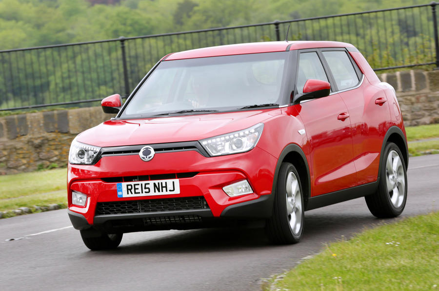 The Ssangyong Tivoli is a practical and roomy small crossover