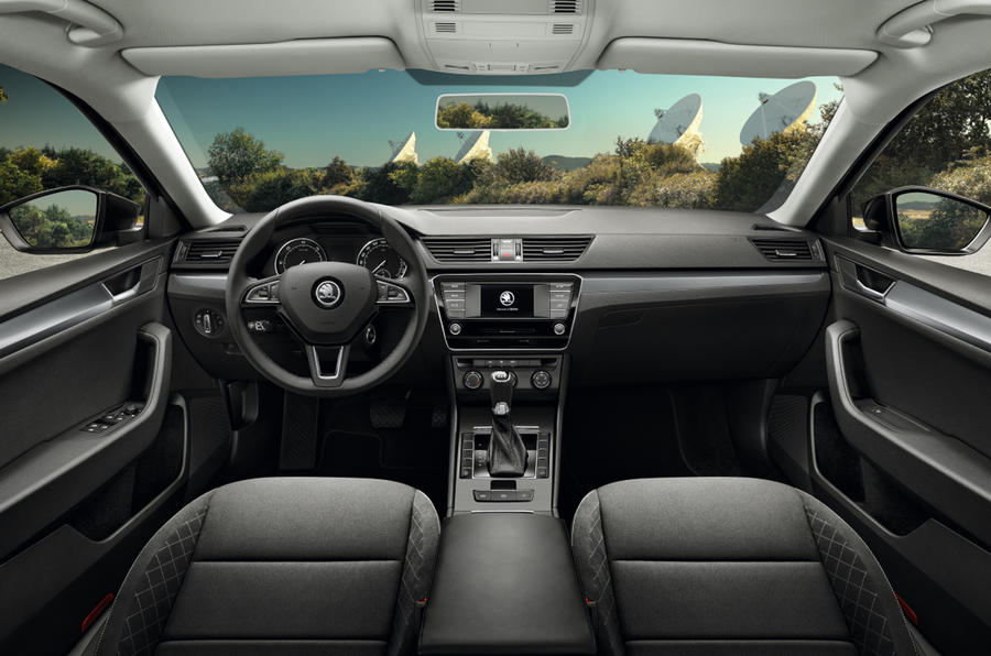 New Skoda Superb interior