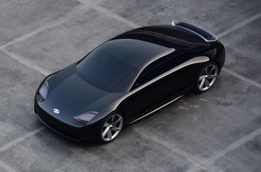2020 Hyundai Prophecy concept - front