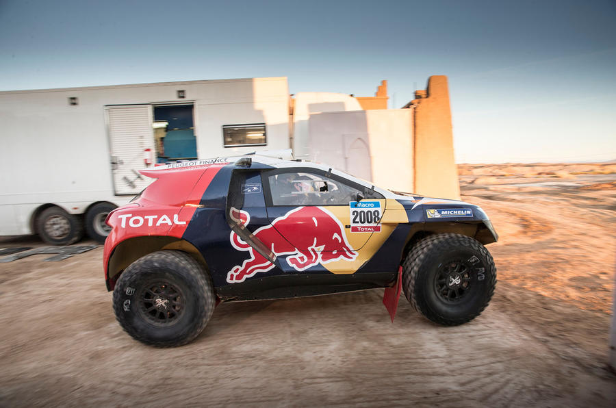 How Peugeot is taking on the Dakar Rally - picture special ...