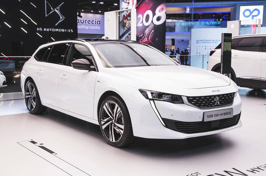 peugeot announces 508, 508 sw and 3008 plug-in hybrids | autocar