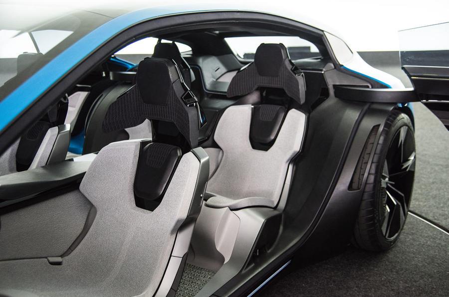 Peugeot Instinct concept seats