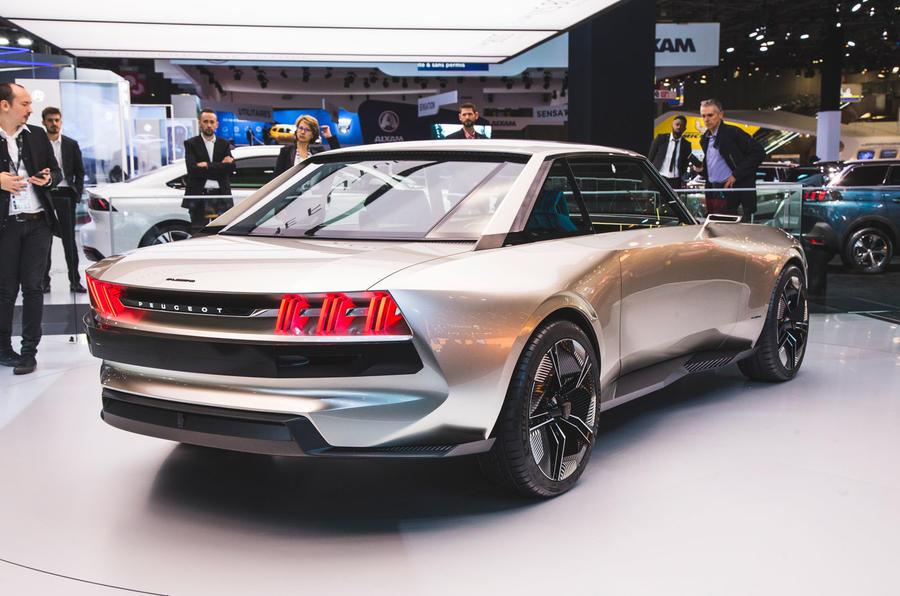 Peugeot E Legend Concept Shown At Paris Autocar