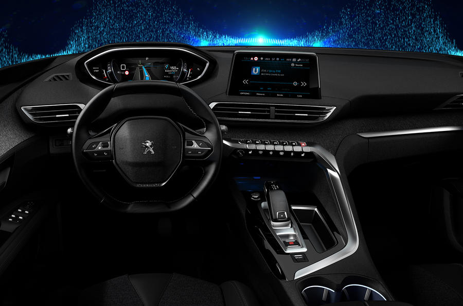 next-generation peugeot i-cockpit to launch in new 3008 | autocar