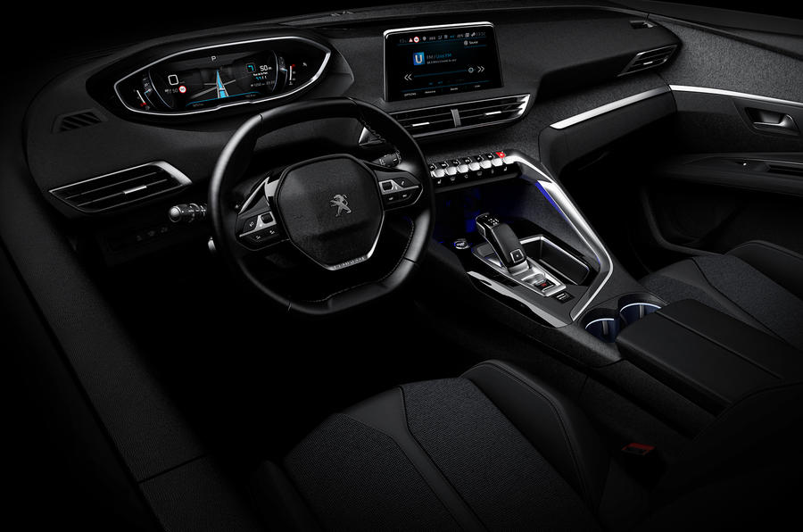 next generation peugeot i cockpit to launch in new 3008 autocar. Black Bedroom Furniture Sets. Home Design Ideas