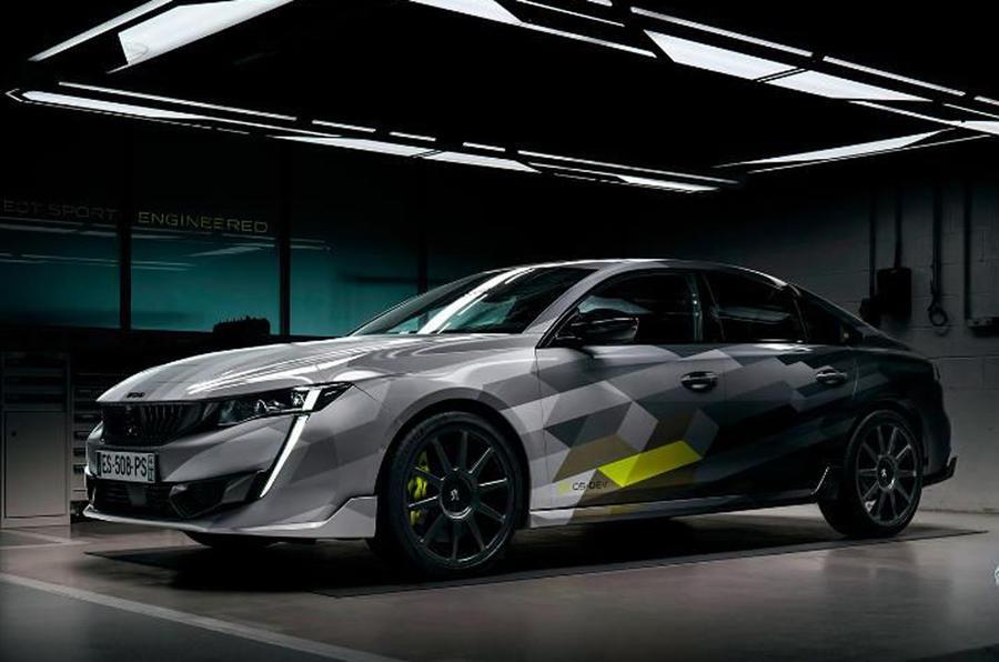 2020 Peugeot 508 PSE - front