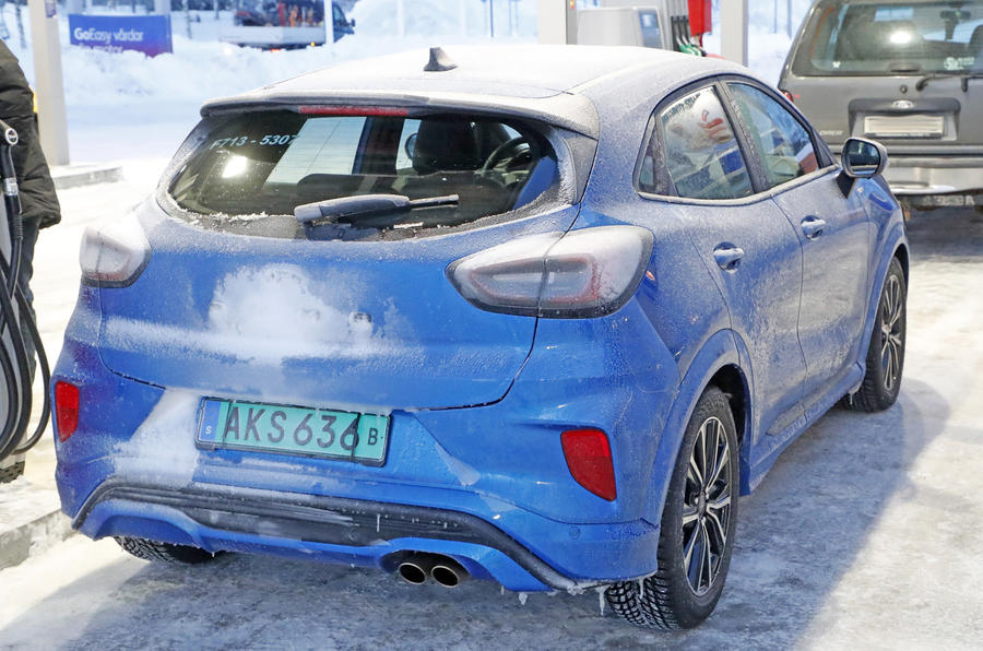2020 Ford Puma ST prototype - rear