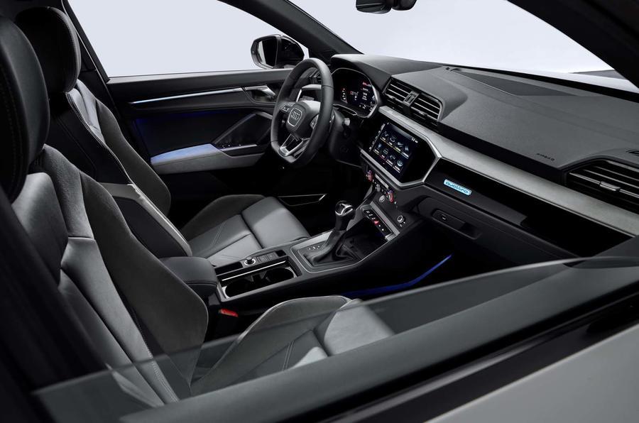 Audi Q3 Sportback revealed - interior