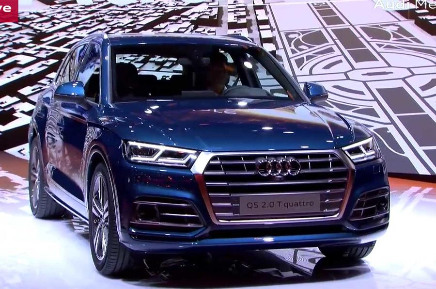 new audi q5 first drive video autocar. Black Bedroom Furniture Sets. Home Design Ideas