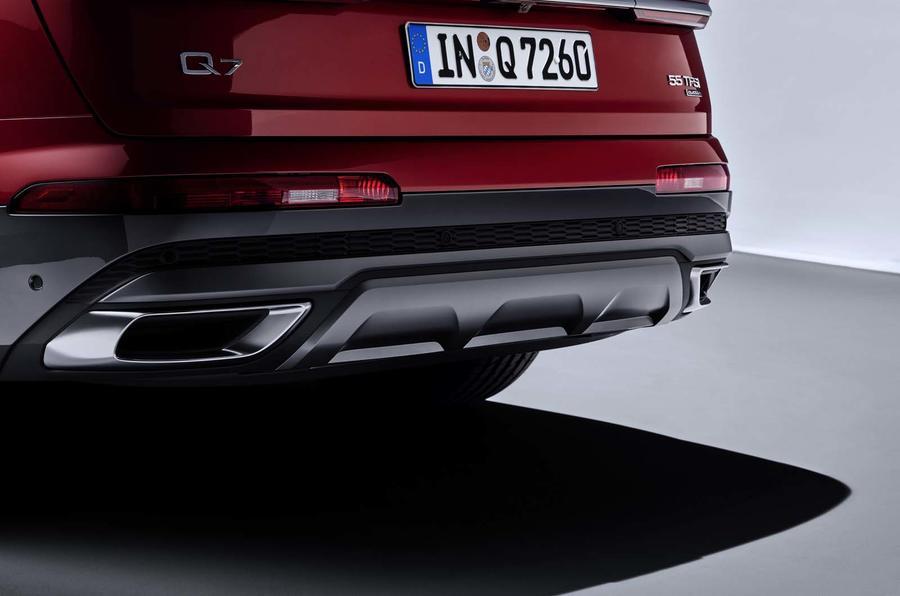 Audi Q7 facelift with a range of interior updates