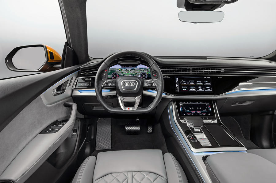 Audi Q8 Suv Range Rover Sport And Bmw X6 Rival Launched