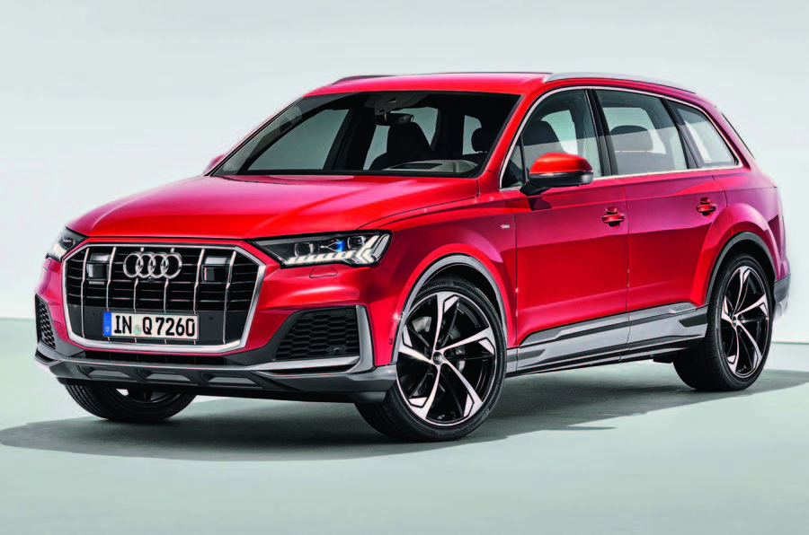 Audi Q7 facelift with a range of interior updates