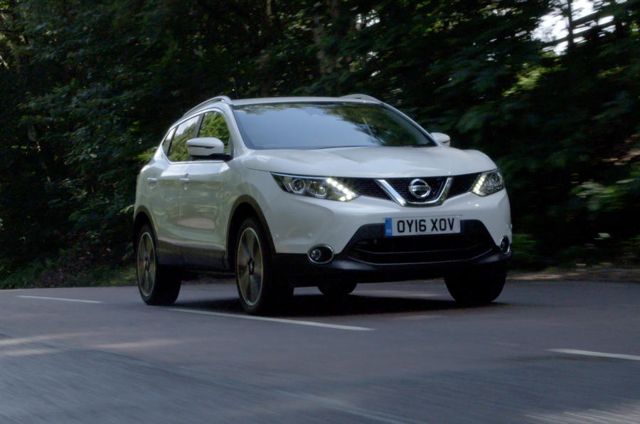 The Qashqai has been named best small SUV by What Car?