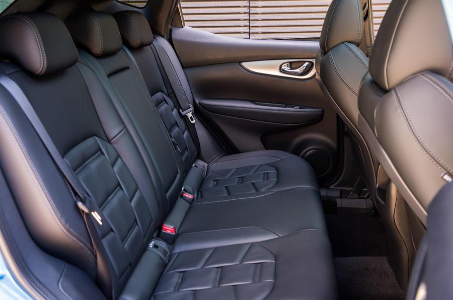 Nissan Qashqai rear seats