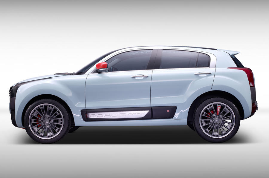 Qoros 2 Suv Phev Concept Unveiled At Shanghai Motor Show